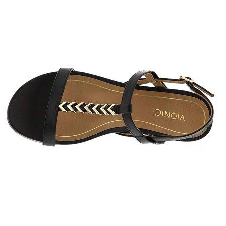 39f58e2c38fb Vionic Womens Port Cali Open Toe Casual Ankle Strap Sandals - image 1 of 2  ...