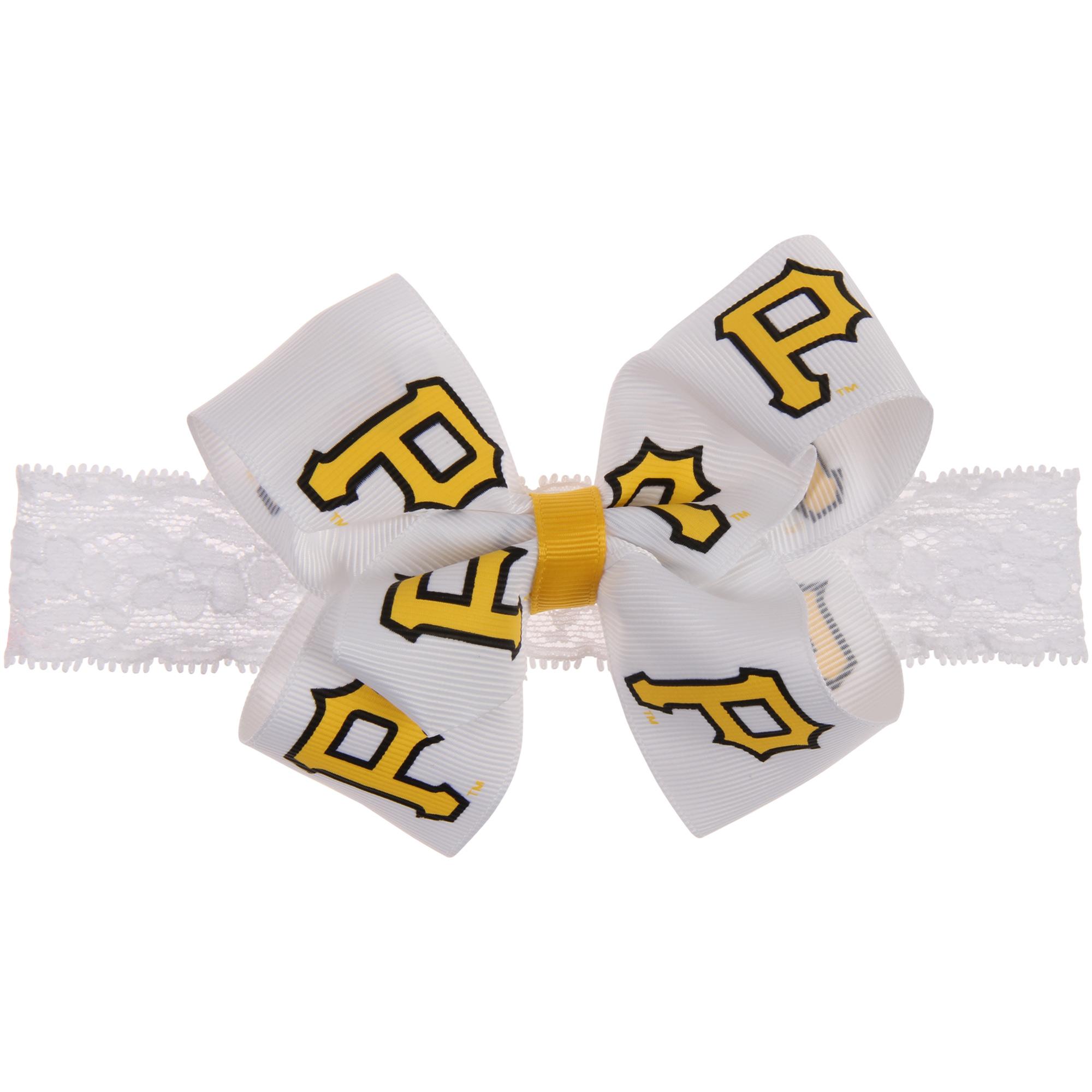 Pittsburgh Pirates Girls Toddler Headband - No Size
