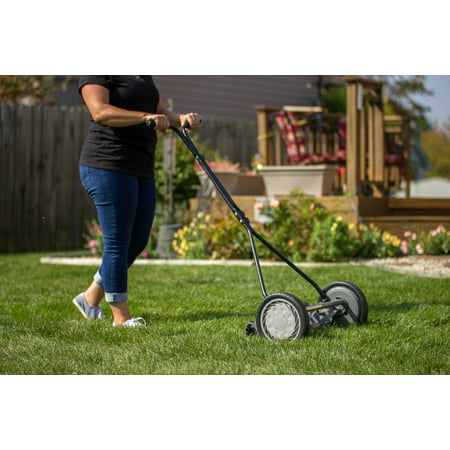 "Great States 415-16 16"" 5 Blade Push Reel Mower"