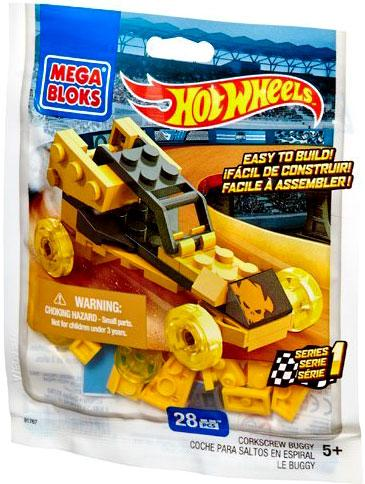 Hot Wheels Corkscrew Set Mega Bloks 91767 [Bagged] by