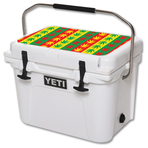 MightySkins Protective Vinyl Skin Decal for YETI Roadie 20 qt Cooler Lid wrap cover sticker skins Mary Jane