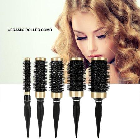 Yosoo Salon Styling Tool,Ceramic Comb Professional Salon Styling Tool Curly Hair Brush Roller Comb,Curly Hair Brush,Salon Styling
