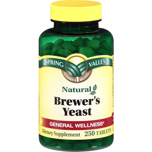 Spring Valley Brewer's Yeast Dietary Supplement Tablets, 250 count