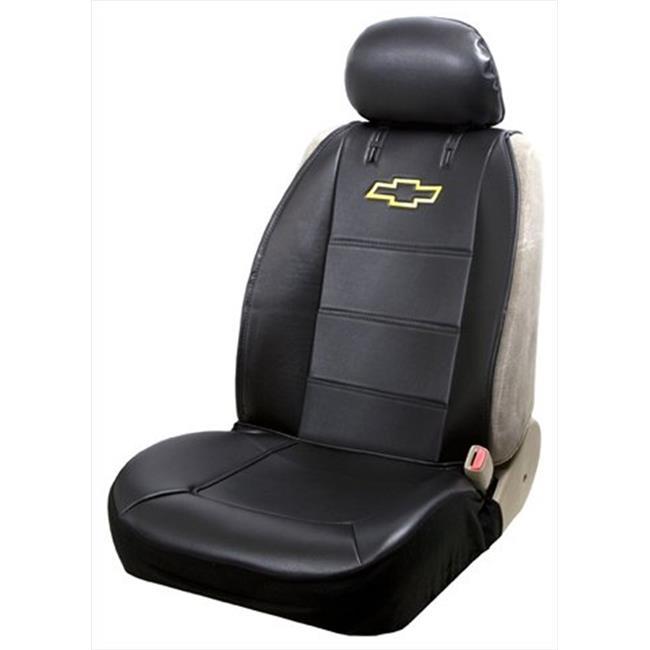 Plasticolor 008586R01 Seat Cover - Chevy Logo Fabric