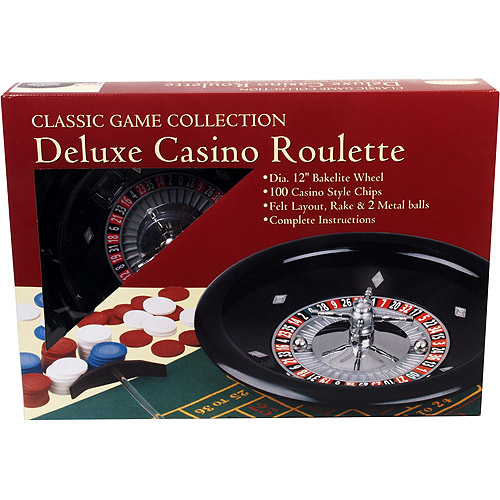 Classic Games Collection Deluxe Casino Roulette Set