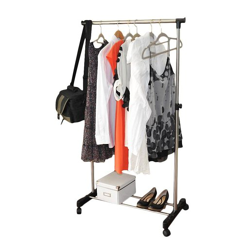 Top Knobs Clothes Rack Heavy Duty Commercial Grade Clothes Rail for Clothing, Garment Rack Adjustable Clothing Rack, Clothing Rail