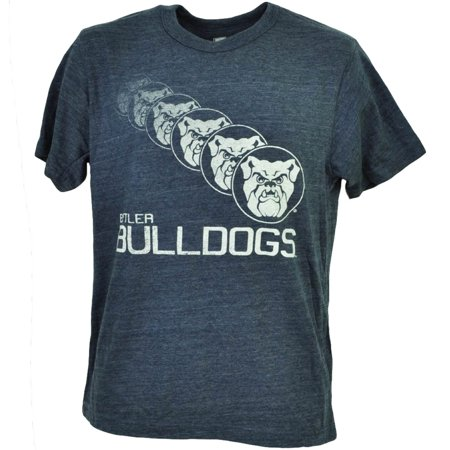 NCAA Butler Bulldogs Repeat Logo Navy Blue Tshirt Tee Mens Short Sleeve XLarge](Ncaa Logo)