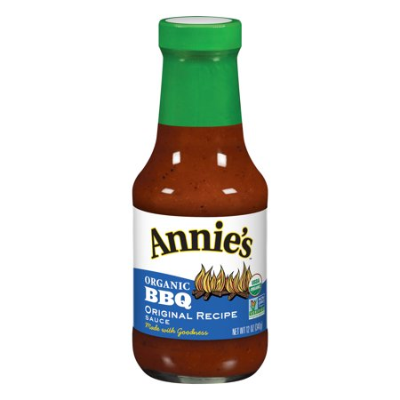- (2 Pack) Annie's Organic Original Recipe BBQ Sauce, 12 oz Bottle