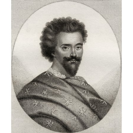 Edward Herbert 1St Baron Herbert Of Cherbury And Castle Island 1583 1648 English Metaphysical Poet Diplomat Historian And Religious Philosopher From The Book A Catalogue Of Royal And Noble Authors Vol