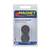 "Magnet Source Ceramic Magnet Disks, 1"" x 5/32"""