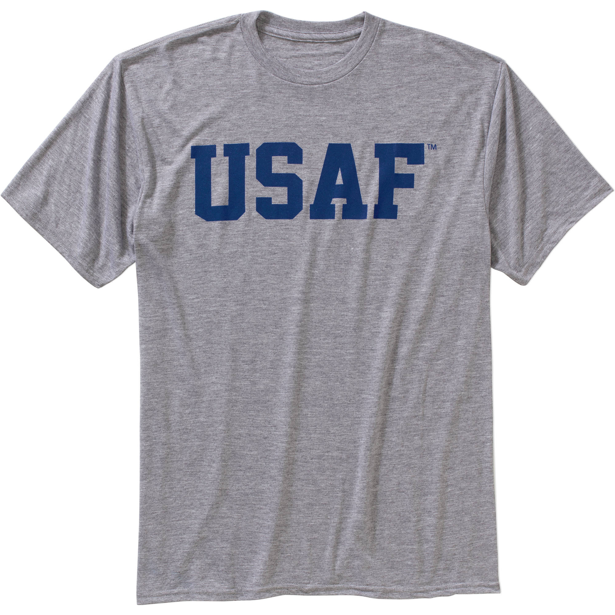 Men's Military Officially Licensed USAF Workout Tee, 2XL