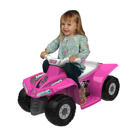 Surge Quad Girls' 6-Volt Battery-Powered Ride-On, - Toys For 2 Year Olds Girl