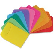 Hygloss Nonadhesive Library Pockets, Assorted, 30 / Pack (Quantity)