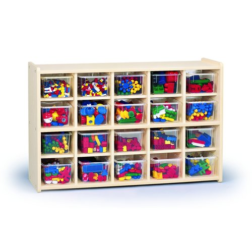 Constructive Playthings Tote 20 Compartment Cubby