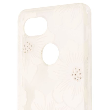 Kate Spade New York Hardshell Case for Google Pixel 2 XL - Clear/White Flowers - image 2 de 3