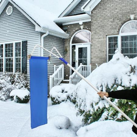 Kinbor Roof Snow Rake Removal Tool 20ft Adjustable
