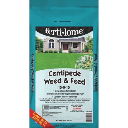 Ferti-lome Centipede Weed & Feed Lawn Fertilizer With Weed Killer