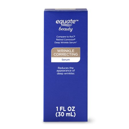 Equate Beauty Wrinkle Correcting Serum, 1 oz