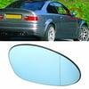 BMW E46 3 SERIES 4 DOOR SALOON CARBON EFFECT M3 ELECTRIC PAIR DOOR WING MIRRORS