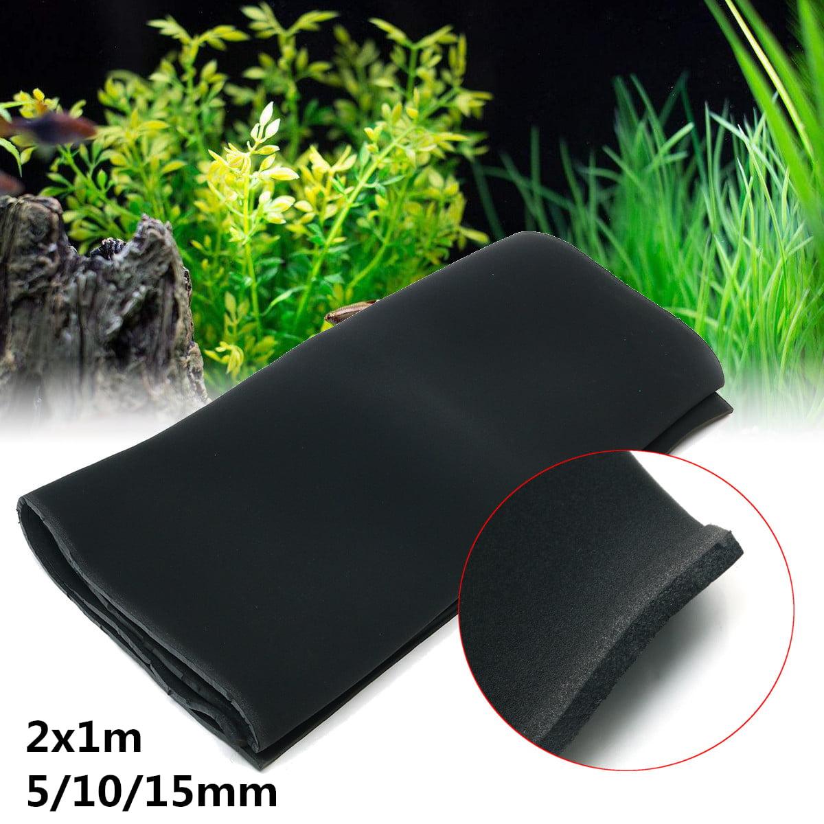 Black Aquarium Biochemical Filter Foam Cotton Sponge Fish Tank Pond
