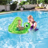 H2OGO! Floating Turtle Baby Care Seat Pool Float
