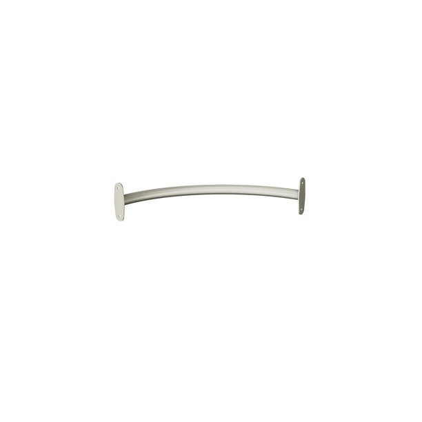 Closetmaid Style 23 In Satin Nickel Corner Closet Rod 2178 New Walmart Com Walmart Com