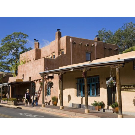 Store on Old Santa Fe Trail, Santa Fe, New Mexico, United States of America, North America Print Wall Art By Richard (Outlet Stores Santa Fe)