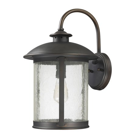 Capital Lighting Dylan Old Bronze 1 Light Outdoor Wall Lantern