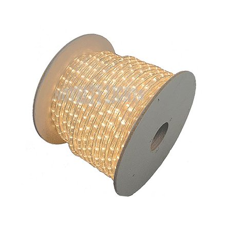 Novelty Lights RLCH-150-SP Incandescent Chasing Rope Light Spool, 3 Wire, 150', Custom Cuttable, 1/2
