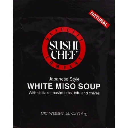 Sushi Chef White Miso Soup, 0.5 Ounce