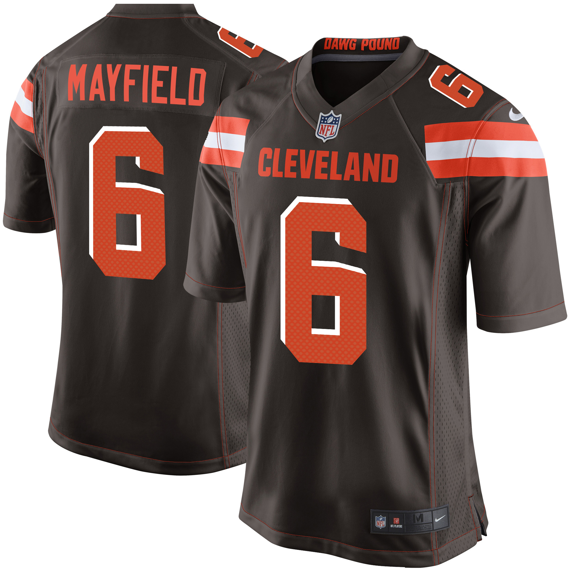 Baker Mayfield Cleveland Browns Nike Youth Game Jersey - Brown