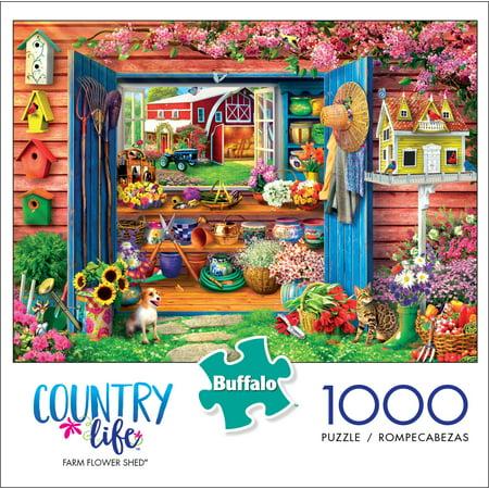 Farm Game (Buffalo Games™ Farm Flower Shed Jigsaw)