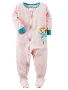 7b8ad242914f Carter s Toddler Girls One-piece Pajamas - Walmart.com
