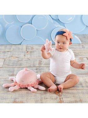 Jillian the Jellyfish Plush Plus Headband and Rattle for Baby