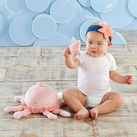 - Jillian the Jellyfish Plush Plus Headband and Rattle for Baby