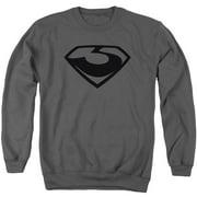Man Of Steel Z Symbol Mens Crewneck Sweatshirt
