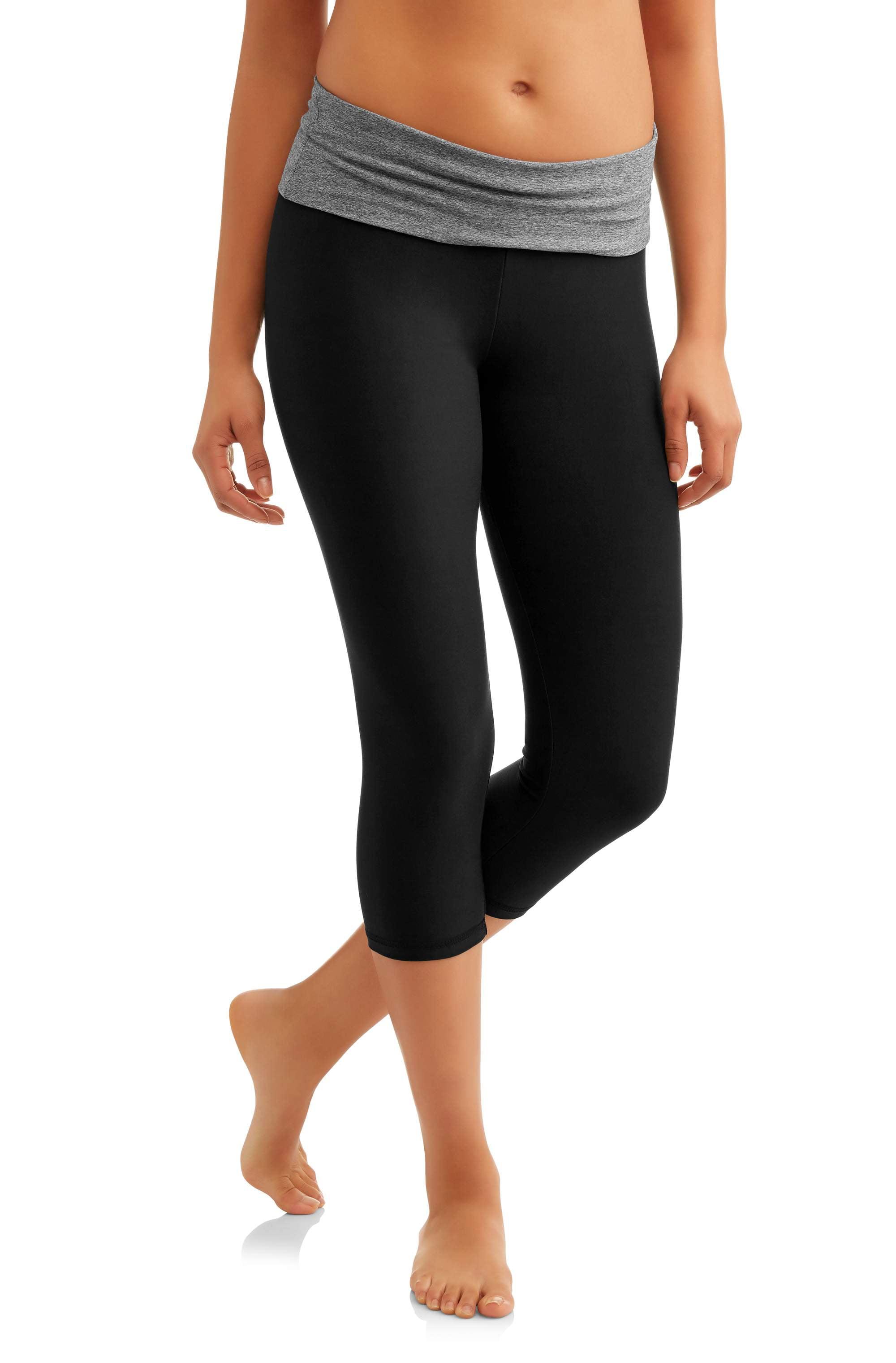 628df399a1a9b Juniors' Essential Skinny Capri Yoga Pants – Walmart Inventory ...