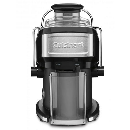 Cuisinart Compact Juice Extractor, Features One Touch Operation, With 16 Ounce Juice Pitcher and Large Feed Tube, Adjustable Flow Spout, BONUS Recipe Booklet Included ()