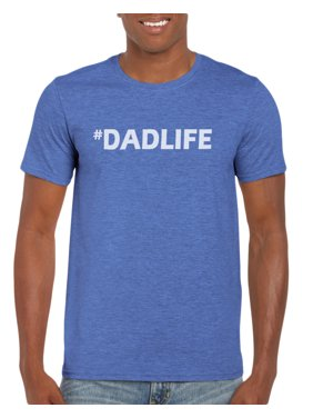 96d69eed Product Image Hashtag #Dadlife 2 T-Shirt Gift Idea for Men - Funny Dad Gag  Gift