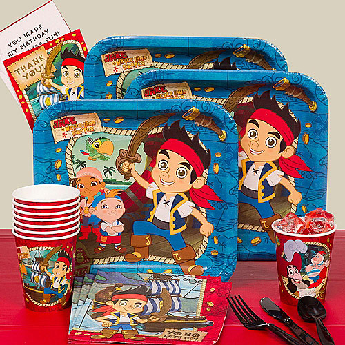 Jake and the Never Land Pirates Basic Kit-N-Kaboodle Party Pack