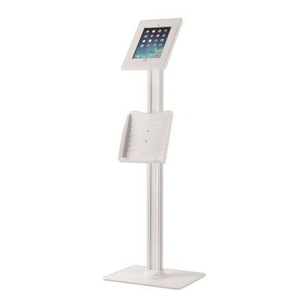 PYLE PMKSPADLK48 - Security Anti-Theft Key & Lock iPad Stand, Public Display Safe & Secure Tablet Device Holder Mount, (Works with iPad 2/3/4/iPad Air/iPad Air 2)