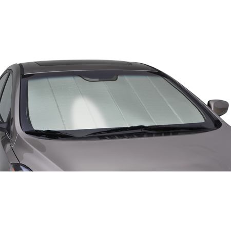 Mercedes Sl500 Convertible - Intro-Tech Premium Folding Sunshade For 2003 - 2012 Mercedes-Benz SL500 Base