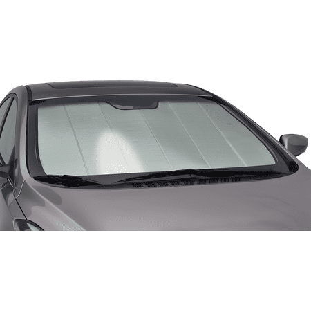 - Intro-Tech Premium Folding Car Sunshade Windshield For 2004 - 2009 BMW 525i Base