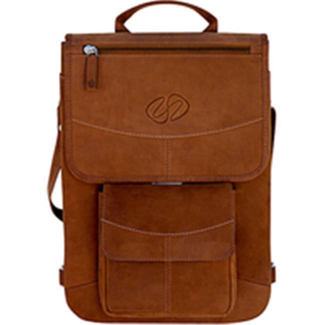 MacCase L11FJ-BK 11 in. Premium Leather MacBook Flight Jacket - Vintage