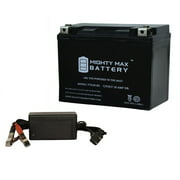 YTX20-BS Battery for Arctic Cat 570 F570,T570 08-14 + 12V 4Amp Charger