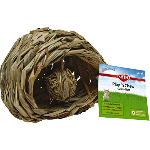 Kaytee Natural Play-N-Chew Cubby Nest Small (Pack of 1)