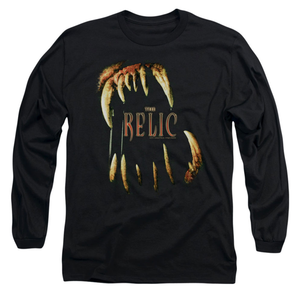 Relic Men's  Mouth Long Sleeve Black