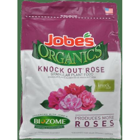 Jobe's Organic 4lbs. Granular Knock Out Rose Plant
