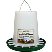 Harris Farms LLC Pet Hanging Poultry Feeder, Plastic, 7 Lbs