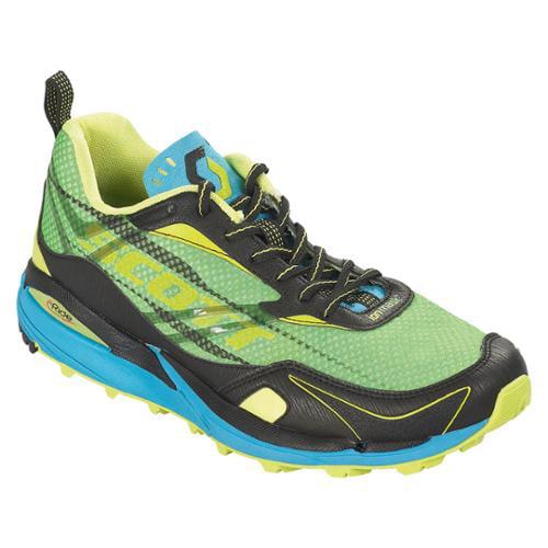Scott eRide Grip Trail Running Shoes Women's 6.5/37.5 Grass/Racer Blue